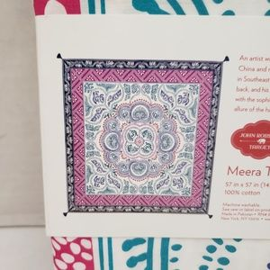 Wall Decor SQUARE MEERA TAPESTRY by JOHN ROBSHAW